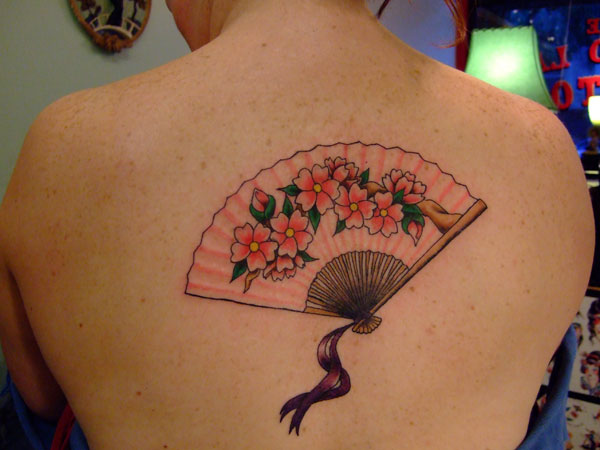 Uper Back Feminine Tattoo Designs
